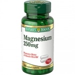 Nature Bounty Magnesium 250mg 100เม็ด