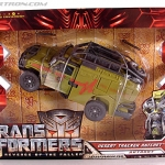 Transformers Revenge of the Fallen Desert Tracker Ratchet Voyager Class [KO] NEW
