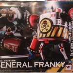 Soul of Chogokin GX-63 General Franky One piece Film Z NEW [Lot.HK]