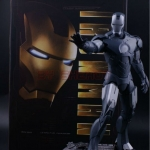IRON MAN MARK IV (MK4) 1/6TH SCALE Collectible Figurine Grey Limited Edition