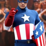 Hot Toys Captain America Star Spangled Man Version Exclusive Toy Fair 2013 NEW