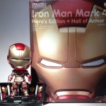 Nendoroid No.349 - Iron Man Mark 42 Hero's Edition + Hall of Armor Set NEW