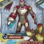 Iron Man 3 Action Figure 15 Inch Sonic Blast - Iron Man Mark 42