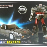 Transformers Masterpiece MP-18 Streak TOMY TAKARA NEW