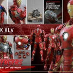 Hot Toys QS006 Iron Man Mark XLV 1/4th scale Avengers: Age of Ultron Special Edition NEW