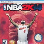 PS4 NBA 2K14 zone 3 ASIA NEW