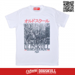 เสื้อยืด OLDSKULL : EXPRESS CITY TOWN | WHITE