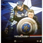 Hot Toys : MMS 243 Captain America & Steve Rogers 1/6 Scale Captain America Winter Soldier NEW