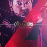 Hot Toys : MMS289 Hawkeye Avengers Age of Ultron AOU NEW