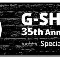 G-SHOCK 35th Anniversary Limited models