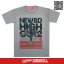 เสื้อยืด OLDSKULL : EXPRESS HD72 | TOP DRY GREY