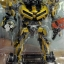 Transformers BumbleBee Leader Class Metallic Gold Costco Exclusive thumbnail 2