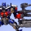 Revoltech Sci-Fi No.030 : Optimus Prime - Transformers Dark Of The Moon NEW thumbnail 21