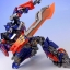 Revoltech Sci-Fi No.030 : Optimus Prime - Transformers Dark Of The Moon NEW thumbnail 16