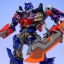 Revoltech Sci-Fi No.030 : Optimus Prime - Transformers Dark Of The Moon NEW thumbnail 15