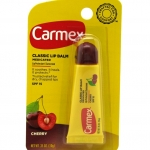 Carmex Cherry Tube Medicated Cherry Flavored Lip Balm 10g. หลอดบีบ
