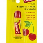 Carmex Cherry Lip Balm SunScreen 10g. หลอดบีบ