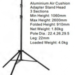Lighting Stands&Background FW-2600FP