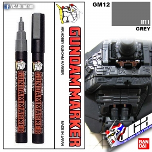 GM12 Gundam Marker (Grey) เทา