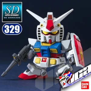 SD BB329 RX-78-2 GUNDAM ANIME COLOR VER
