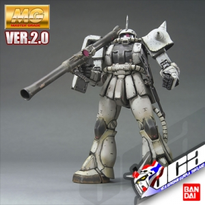 MG MS-06J ZAKU 2 VER 2.0 WHITE OGRE