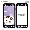 LOFTER Pets Full Cover - White Cat Black (iPhone7+)