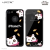 LOFTER Black Pets Full Cover - Cat (iPhone7+)