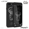 LOFTER iRobot Full Cover - Black Robot (iPhone7+)