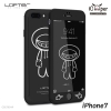 LOFTER iRobot Full Cover - Black Robot (iPhone7)