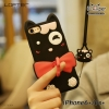 LOFTER Soft Silicone - Black Cat (iPhone6+/6s+)
