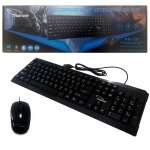ชุด USB Keyboard + USB Optical Mouse