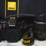 (Sold out)Nikon D3200+Lens 18-55 DX VR