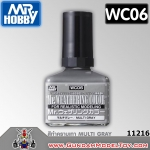 Mr.WEATHERING COLOR WC06 MULTI GRAY สีทำคราบเทา