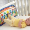 เปียโนเด็กเล็ก fisher price link a doos kick and play piano