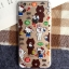 เคสยาง 1.2mm Kitty x Line Friends 4 แบบ - เคส iPhone 6 Plus / 6S Plus thumbnail 5