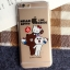 เคสยาง 1.2mm Kitty x Line Friends 4 แบบ - เคส iPhone 6 Plus / 6S Plus thumbnail 4