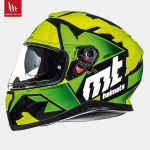 MT Thunder 3 Torn Gloss Fluor Yellow Fluor Green