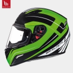 MT Mugello Maker Gloss Black Fluor Green