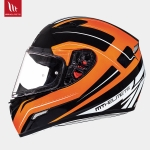 MT Mugello Maker Gloss Black Fluor Orange