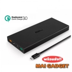 Aukey 16000 mAh Quick Charge 3.0 Slim Powerbank แถมถุงผ้าฟรี