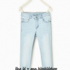 1724 Zara Basic Jeans - Light Blue ขนาด 11-12,13-14 ปี