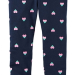 1750 Carter Heart Leggings - Navy blue ขนาด 5,7 ปี