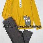 SP017 H&M Mustard Long Sleeve + H&M Legging