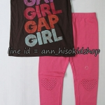 SP022 Place T-Shirt + Palmino Legging sz 6-7 ปี