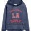 1711 H&M Hooded Top with a Print Motif ขนาด 8-10,12-14 ปี thumbnail 1