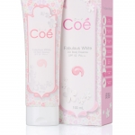ครีมทาผิวขาว Coe Fabulous White DD Body Essence SPF50 PA