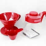 V60 Coffee server 02 set RED