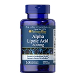 Alpha Lipoic Acid 300 mg (ALA) 60 Softgels (Puritan's pride)