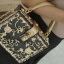 Dolce & gabbana gold diamond acylic luxury handbag thumbnail 11