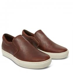 รองเท้า Men's Earthkeepers® Adventure 2.0 Cupsole Dark Brown Leather Shoe A189Z พร้อมกล่อง